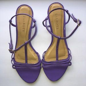 Talbots Shoes - NWOT Lavender Sandals